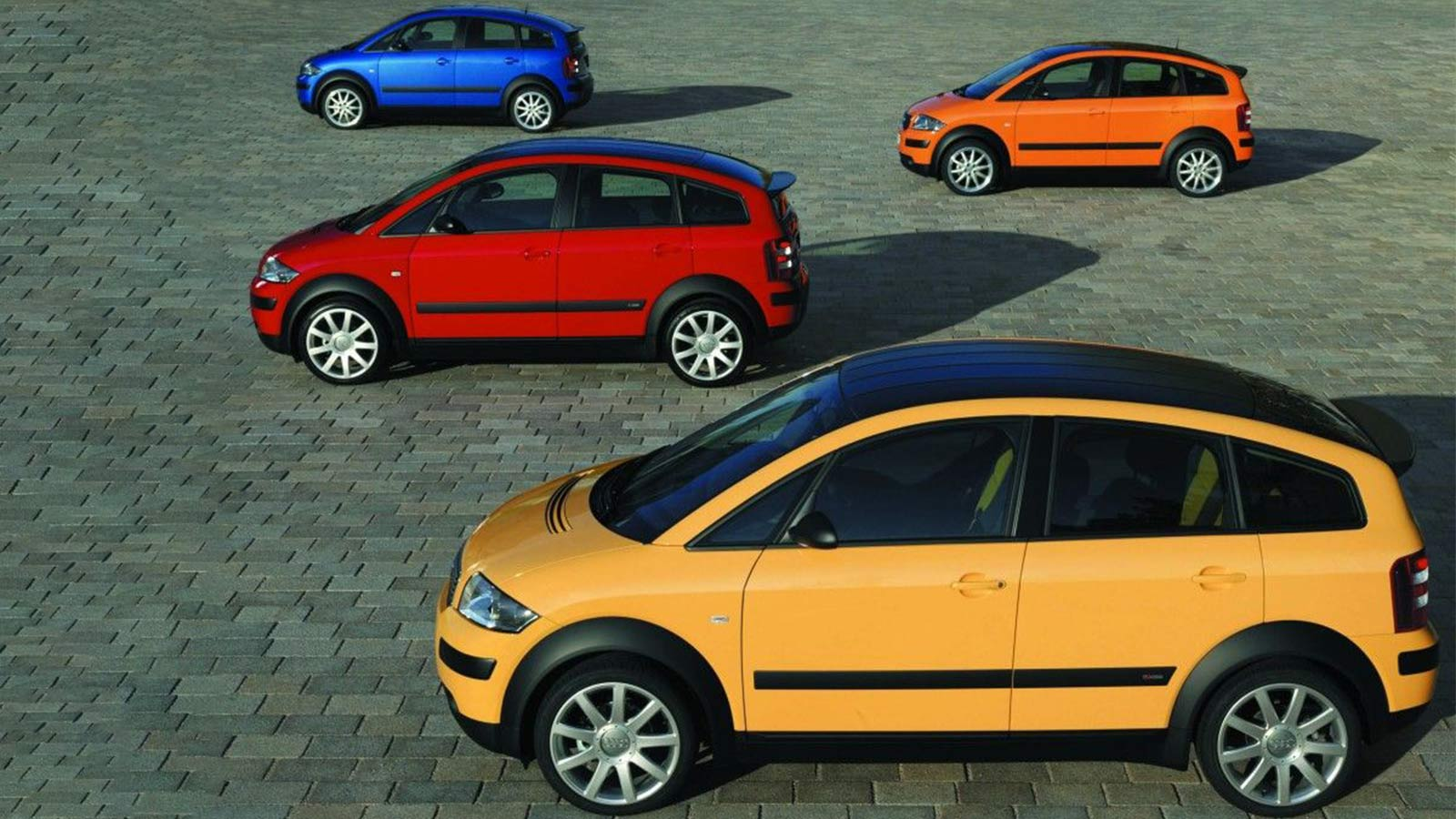Audi A2 first main picture