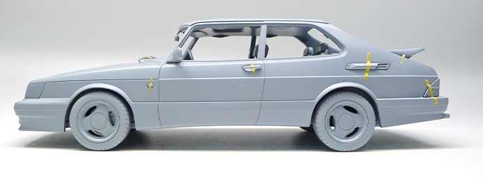 Saab 900 T16 airflow